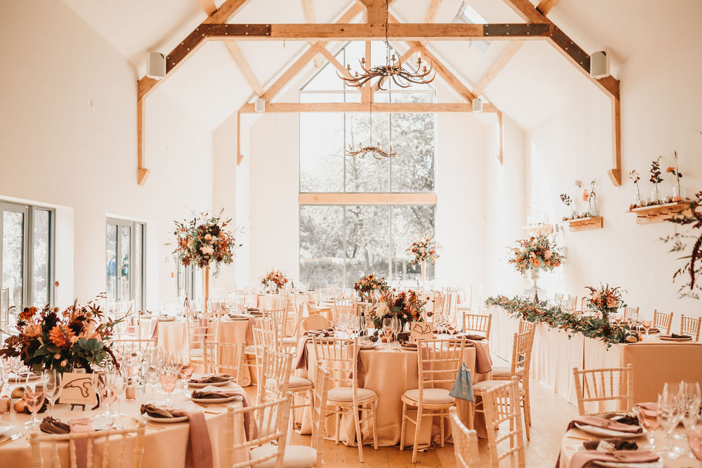 Autumn Wedding at Millbridge Court CC