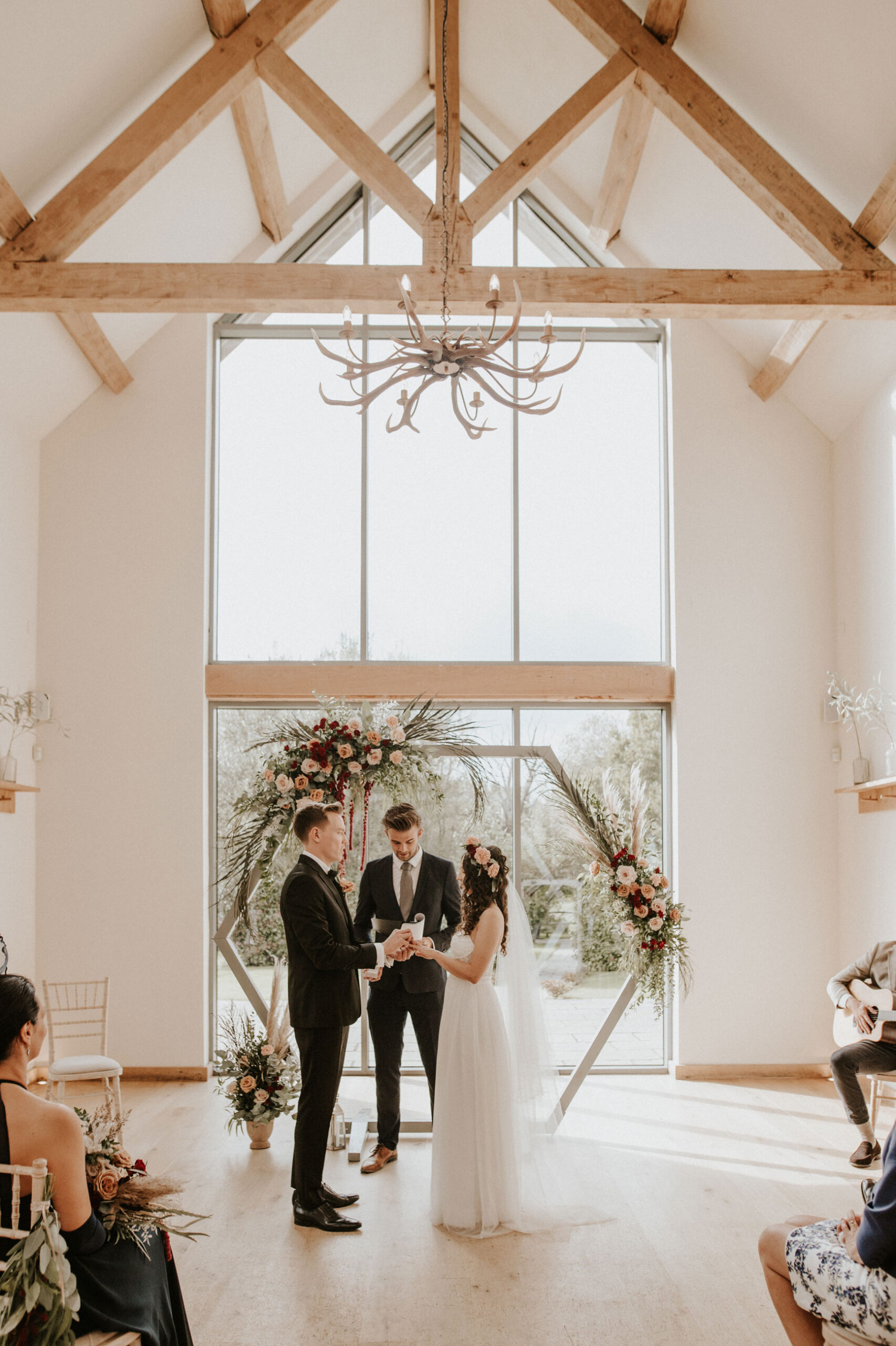 Bride-and-Groom-at-a-Micro-Wedding